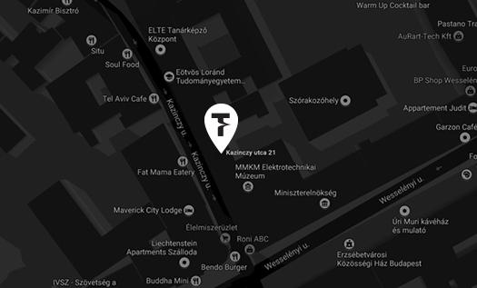 Tesla Teátrum a térképen